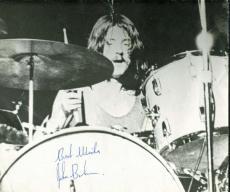 Led Zeppelin John Bonham Signed Autographed 10x12 On-Stage Photograph PSA/DNA