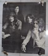 Led Zeppelin Music Group 1969 31x28 Vintage Poster New York #201 Rare