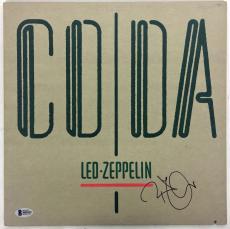 Led Zeppelin Robert Plant Signed Autographed CODA Album Beckett BAS
