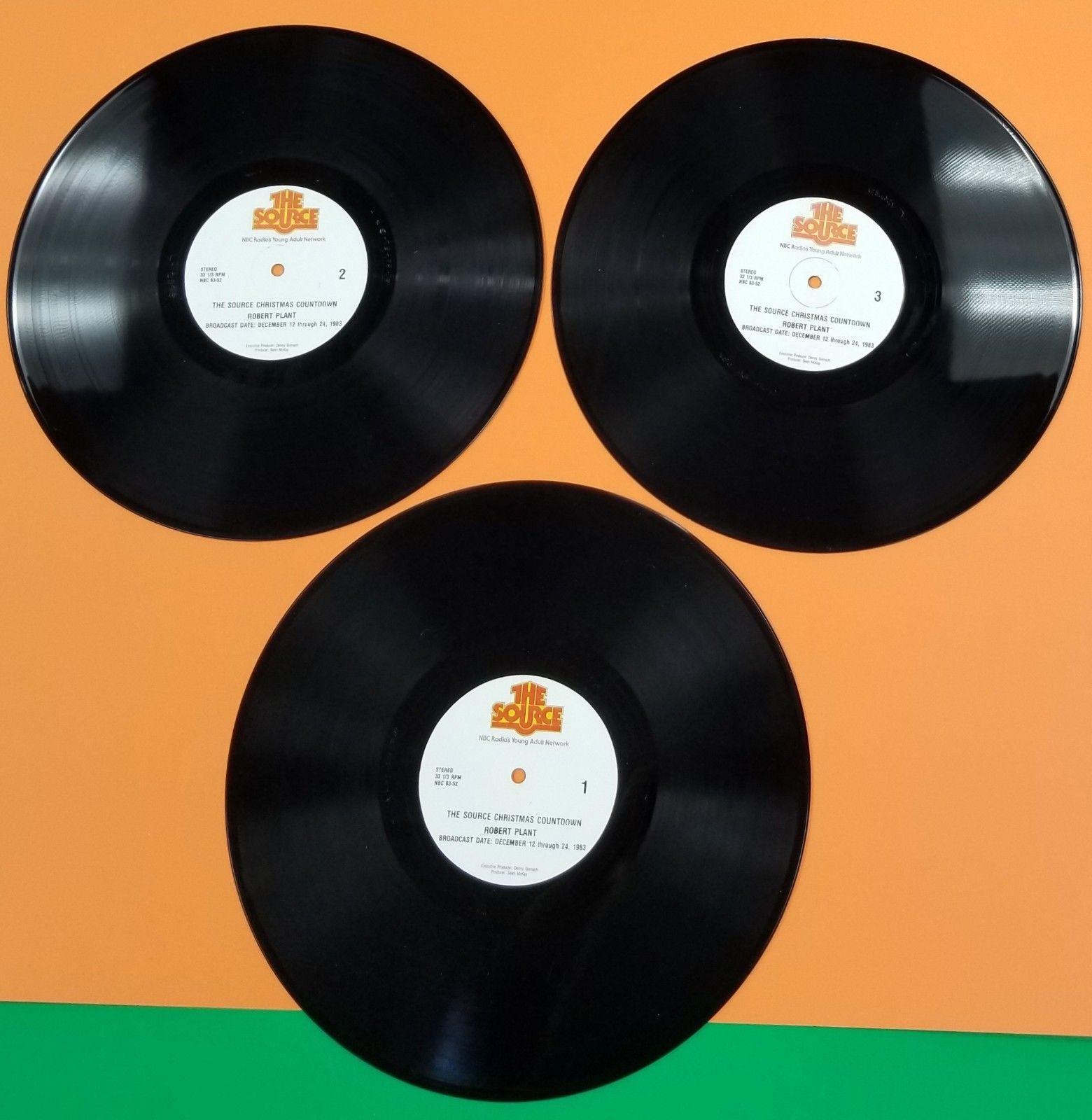 led zeppelin robert plant the source 6 lp mint vinyl christmas radio show 82 83 - Led Zeppelin Christmas