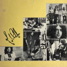 Led Zeppelin Signed Autographed 12x12 Photograph Plant Page Jones Beckett BAS