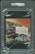 Led Zeppelin Signed Autographed Houses Of Holy Page Plant Jones PSA/DNA