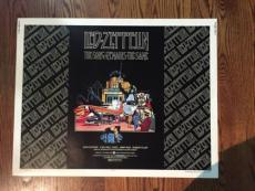 Led Zeppelin The Song Remains The Same Original Movie Poster 1976 22X28 Rare