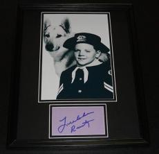 Lee Aaker Signed Framed 11x14 Photo Display Rin Tin Tin