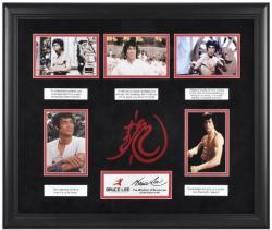 Lee, Bruce Framed 5-photo (wisdom Of Bruce Lee) Collage/logo