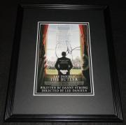 Lee Daniels Signed Framed 8x10 Photo AW The Butler Precious Empire