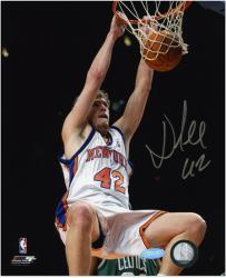 "New York Knicks David Lee Autographed 8"" x 10"" Photo"