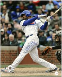 "Derrek Lee Chicago Cubs Autographed 16"" x 20"" Photograph - Mounted Memories"