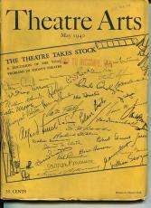 Lee J Cobb Jack Haley Jo Mielziner May 1940 Theatre Arts Monthly Magazine