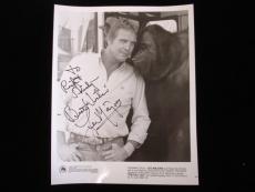 "Lee Majors Autographed 8"" x 10"" Black & White Photograph - B&E Holo"