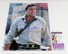 Lee Majors Signed 11 x 14 Color Photo The Six Million Dollar Man JSA Auto