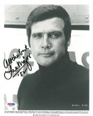 Lee Majors Signed Authentic Autographed 8x10 Photo (PSA/DNA) #V69937