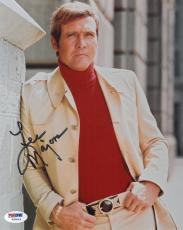 Lee Majors Signed Authentic Autographed 8x10 Photo (PSA/DNA) #V90549
