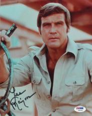 Lee Majors Signed Authentic Autographed 8x10 Photo (PSA/DNA) #V90550