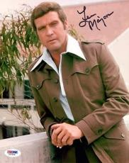 LEE MAJORS SIGNED AUTOGRAPHED 8x10 PHOTO THE SIX MILLION DOLLAR MAN PSA/DNA