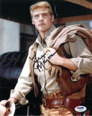 Lee Majors Signed Big Valley Authentic Autographed 8x10 Photo (PSA/DNA) #V90552