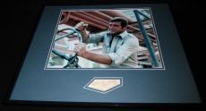Lee Majors Signed Framed 16x20 Photo Display JSA Six Million Dollar Man