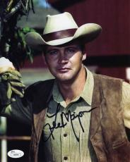 Lee Majors The Big Valley Autographed Signed 8x10 Photo Authentic JSA AFTAL COA