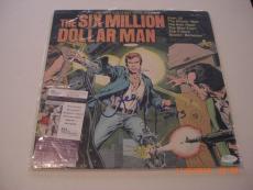 Lee Majors The Six Million Dollar Man Jsa/holo Signed Laserdisc Album