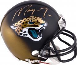 Marqise Lee Jacksonville Jaguars 2014 NFL Draft Autographed Riddell Mini Helmet  - Mounted Memories