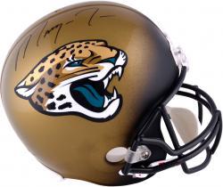 Marqise Lee Jacksonville Jaguars 2014 NFL Draft Autographed Riddell Replica Helmet