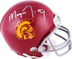 Marqise Lee USC Trojans Autographed Riddell Mini Helmet