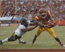 """Marqise Lee USC Trojans Autographed 8"""" x 10"""" Break Tackle Photograph"""