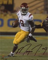 """Marqise Lee USC Trojans Autographed 8"""" x 10"""" White Uniform Vertical Photograph"""