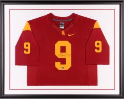 Marqise Lee USC Trojans Autographed Framed Limited Replica Jersey