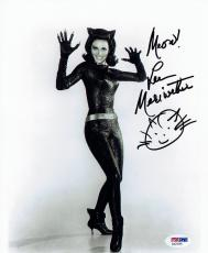 Lee Meriweather Signed Catwoman Autographed 8x10 B/W Photo PSA/DNA #AA24195