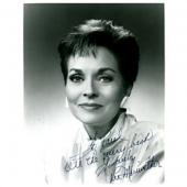 Lee Meriwether Autographed / Signed Black & White 8x10 Photo