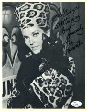 LEE MERIWETHER CATWOMAN JSA COA Hand Signed 8X10 Photo Autograph Authenticated
