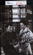Lee Meriwether Jsa Coa Hand Signed Photograph Authenticated Autograph