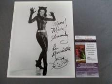 Lee Meriwether Signed 8x10 Photo Catwoman Batman The Munsters JSA COA