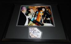 Lee Meriwether Signed Framed 16x20 Sketch & Photo Set Batman Catwoman B