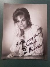 Lee Meriwether-signed photo-Certified - pose 7 - JSA