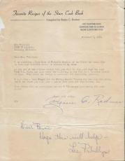 Lee Phillips Signed 1961 Fan Letter WBBM Chicago