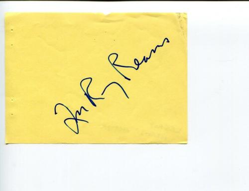Lee Roy Reams Broadway Tony Award Nominee 42nd Street Signed Autograph
