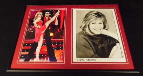 Leeza Gibbons Signed Framed 12x18 Photo Display DWTS Entertainment Tonight