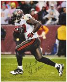 Signed LeGarrette Blount Photo - 16x20 Mounted Memories