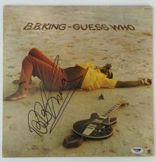 LEGEND!!! BB King BLUES Signed GUESS WHO LP Album PSA/DNA LOA