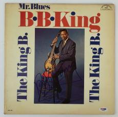 LEGEND!!! BB King BLUES Signed THE KING B. LP Album PSA/DNA LOA