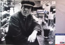 LEGEND!!! Leonard Cohen Signed BEAUTIFUL CLASSIC 11x14 Photo #3 PSA/DNA