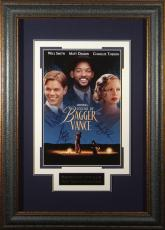Legend of Bagger Vance Cast Signed 11x17 Poster Framed