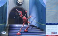 LEGEND!!! Robin Williams FENDER Signed ROBOTS 8x10 Photo #1 PSA/DNA