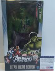 LEGEND!!! Stan Lee MARVEL Signed Avengers THE HULK 12in Action Figure #2 PSA/DNA