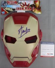 LEGEND!!! Stan Lee MARVEL Signed IRON MAN Mask PSA/DNA Avengers POW!!!