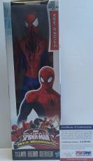 LEGEND!!! Stan Lee MARVEL Signed SPIDER-MAN 12in Action Figure #1 PSA/DNA