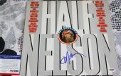 LEGEND Willie Nelson signed album, Half Nelson, Stardust, PSA/DNA
