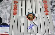 LEGEND Willie Nelson signed album, Half Nelson, Stardust, PSA/DNA